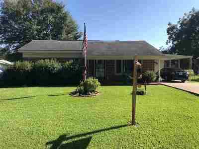 Ferriday Single Family Home For Sale: 136 Crestview Dr.