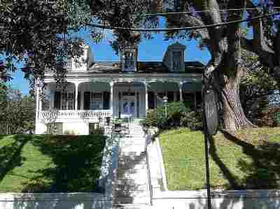 Natchez Single Family Home For Sale: 408 N Pearl Street