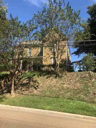 Natchez Single Family Home For Sale: 197 Homochitto St