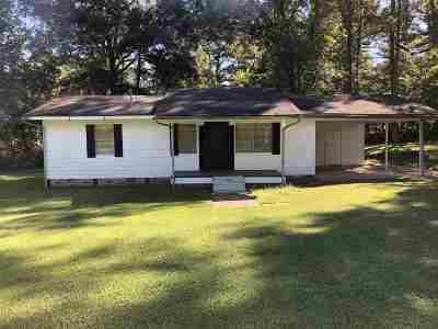 Natchez Single Family Home For Sale: 1823 N Dr. Mlk