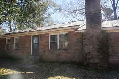 Natchez Single Family Home For Sale: 8 Reba Christian Rd.