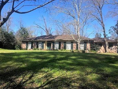 Natchez Single Family Home For Sale: 114 Dana Rd.