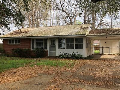 Concordia Parish Single Family Home For Sale: Pecan 1105
