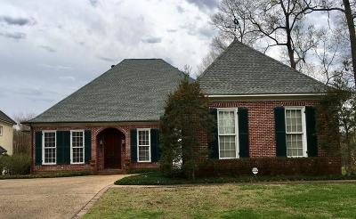 Natchez Single Family Home For Sale: 17 Bluff Hills Place