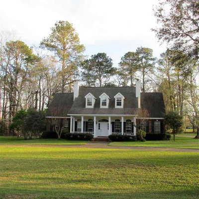 Natchez Single Family Home For Sale: 16 Colony Drive
