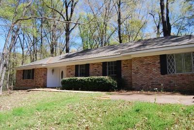 Natchez Single Family Home For Sale: 109 1/2 Live Oak Drive
