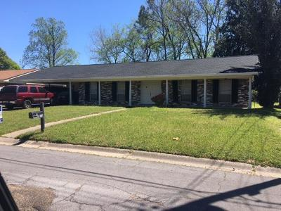 Natchez Single Family Home For Sale: 115 Woodville Drive
