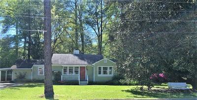 Natchez Single Family Home For Sale: 27 Montebello Dr.