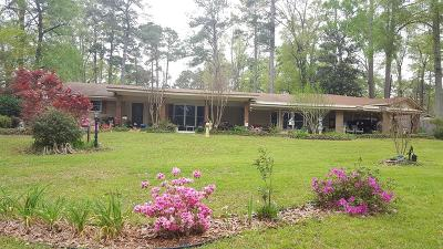 Natchez Single Family Home For Sale: 54 N Melanie Rd