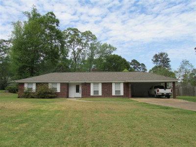 Natchez Single Family Home For Sale: 307 Melrose Montebello Pkwy