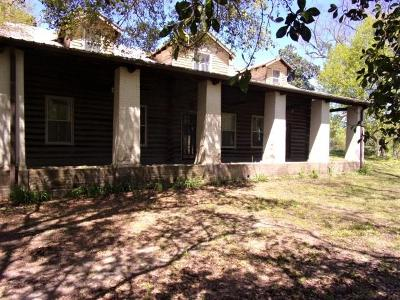 Natchez Single Family Home For Sale: 66 Magnolia Bluff