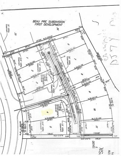 Adams County Residential Lots & Land For Sale: Lot # 4 Club Drive
