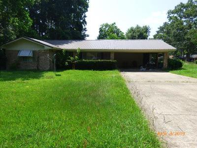 Natchez Single Family Home For Sale: 1200 Horseshoe Lane