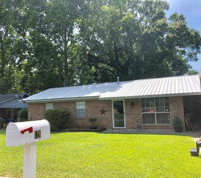 Natchez Single Family Home For Sale: 121 Oakhill Dr