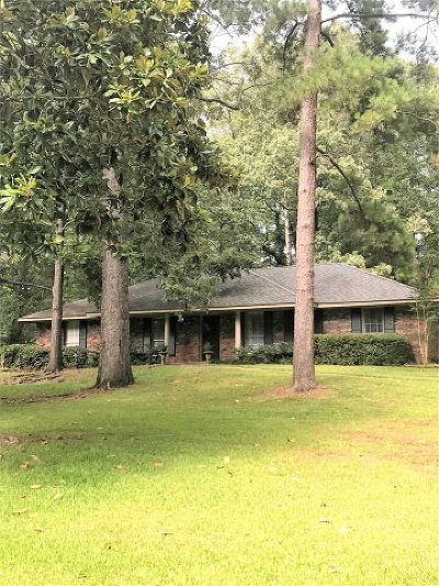 Natchez Single Family Home For Sale: 112 Woodhaven Drive