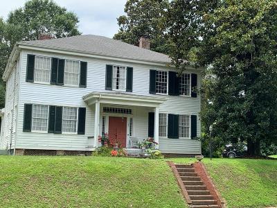 Natchez Single Family Home For Sale: 166 Homochitto Street