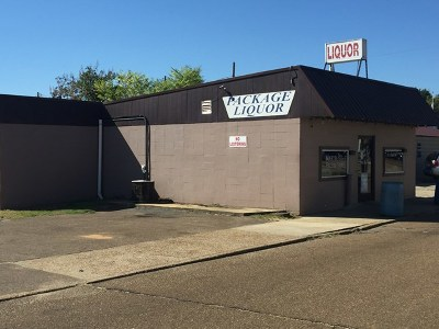 Water Valley Commercial For Sale: 110 Martin