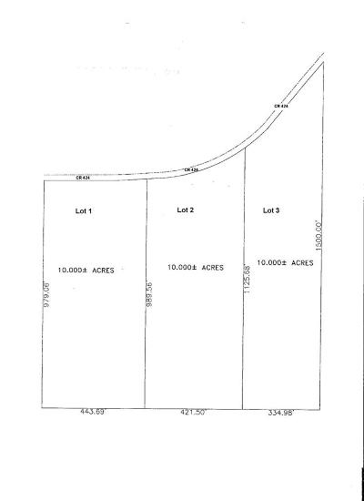 Oxford Residential Lots & Land For Sale: Cr 424, Lot 1