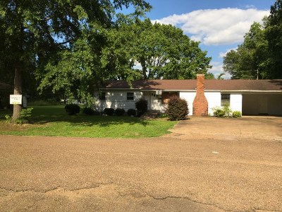 Bruce, Calhoun City, Derma, Abbeville, Banner, Batesville, Como, Taylor, Courtland, Crenshaw, Pope, Sardis, Charleston, Coffeeville, Oakland Single Family Home For Sale: 208 Calvary