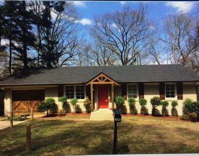Oxford Single Family Home For Sale: 1605 Buchanan