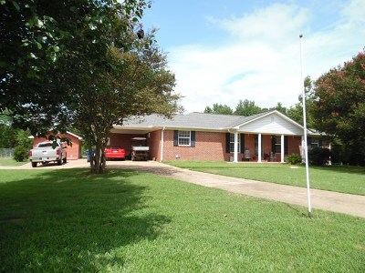 Bruce, Calhoun City, Derma, Abbeville, Banner, Batesville, Como, Taylor, Courtland, Crenshaw, Pope, Sardis, Charleston, Coffeeville, Oakland Single Family Home For Sale: 12513 Hwy 35 South