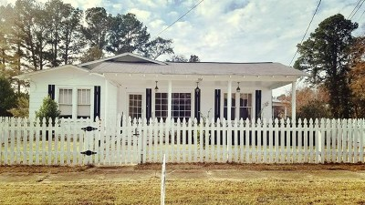 Bruce, Calhoun City, Derma, Abbeville, Banner, Batesville, Como, Taylor, Courtland, Crenshaw, Pope, Sardis, Charleston, Coffeeville, Oakland Single Family Home For Sale: 206 S. Monroe Street