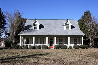 Oxford Single Family Home For Sale: 395 Hwy 30