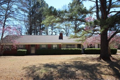 Oxford Single Family Home For Sale: 102 Lakeway Drive