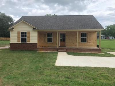 Water Valley MS Single Family Home For Sale: $110,000