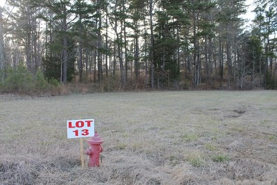 Water Valley Residential Lots & Land For Sale: Lot 13 Oakley Dr
