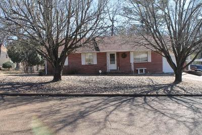 Water Valley MS Single Family Home For Sale: $72,500