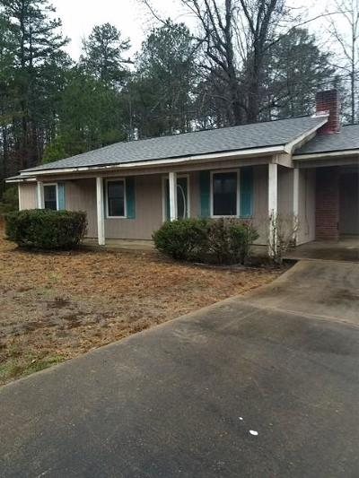 Oxford Single Family Home For Sale: 809 Hwy 30