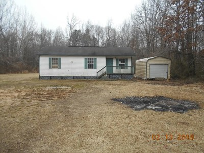Bruce, Calhoun City, Derma, Abbeville, Banner, Batesville, Como, Taylor, Courtland, Crenshaw, Pope, Sardis, Charleston, Coffeeville, Oakland Single Family Home For Sale: 926 Cold Springs Rd