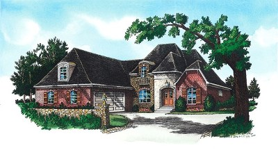 Oxford Single Family Home For Sale: Lot #25 Woodview