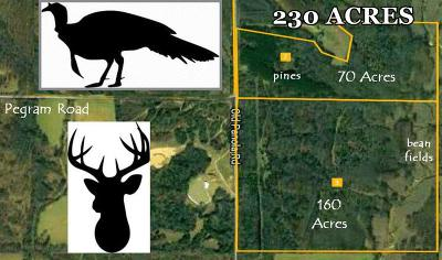 Bruce, Calhoun City, Derma, Abbeville, Banner, Batesville, Como, Taylor, Courtland, Crenshaw, Pope, Sardis, Charleston, Coffeeville, Oakland Residential Lots & Land For Sale: Xx Old Panola Road