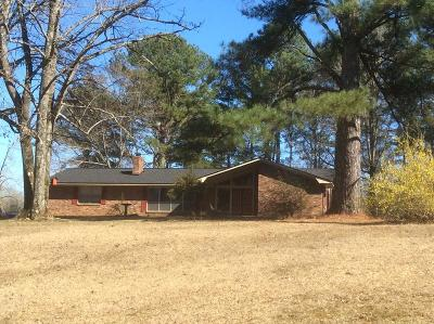 Water Valley MS Single Family Home For Sale: $174,900
