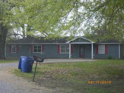 Bruce, Calhoun City, Derma, Abbeville, Banner, Batesville, Como, Taylor, Courtland, Crenshaw, Pope, Sardis, Charleston, Coffeeville, Oakland Single Family Home For Sale: 596 Frank Barnett Rd