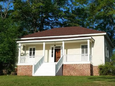 Water Valley MS Single Family Home For Sale: $165,000