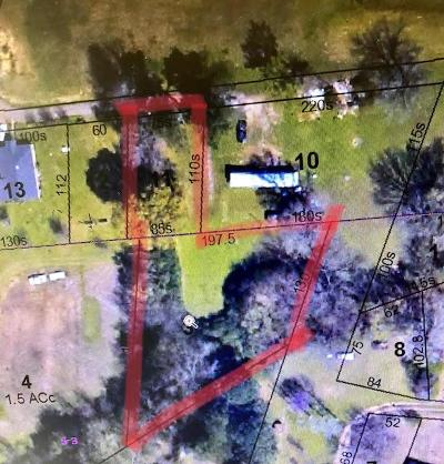 Water Valley MS Residential Lots & Land For Sale: $35,000