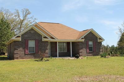 Coffeeville Single Family Home For Sale: 1179 Cr 135