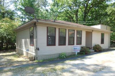 Bruce, Calhoun City, Derma, Abbeville, Banner, Batesville, Como, Taylor, Courtland, Crenshaw, Pope, Sardis, Charleston, Coffeeville, Oakland Single Family Home For Sale: 23 Cr 5007