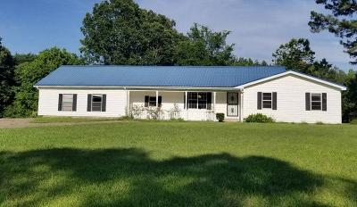 Water Valley MS Single Family Home For Sale: $167,000