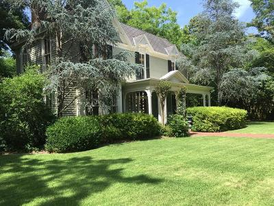 Oxford Single Family Home For Sale: 1009 Hayes Avenue
