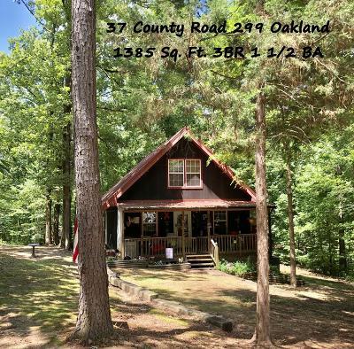 Yalobusha County Single Family Home For Sale: 37 County Road 299