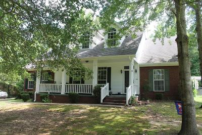 Water Valley MS Single Family Home For Sale: $249,900