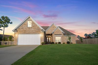 Oxford Single Family Home For Sale: 1027 Scarlett