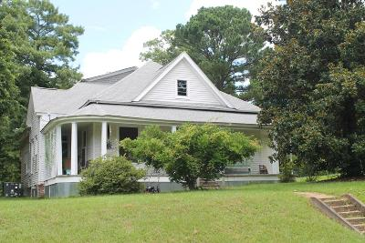 Water Valley MS Single Family Home For Sale: $115,500