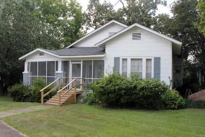 Water Valley Single Family Home For Sale: 205 Church Street