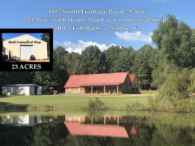 Single Family Home For Sale: 1807 South Frontage Road