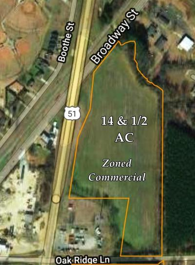 Bruce, Calhoun City, Derma, Abbeville, Banner, Batesville, Como, Taylor, Courtland, Crenshaw, Pope, Sardis, Charleston, Coffeeville, Oakland Residential Lots & Land For Sale: 00 Hwy 51 N